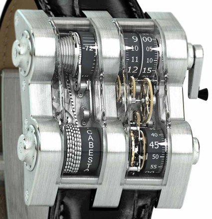 The Cabestan Winch Tourbillion Vertical Watch