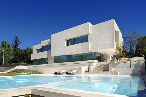 House in Las Rozas by A-cero