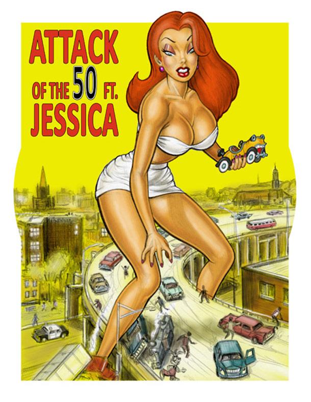 Sexy Jessica Rabbit Fanart