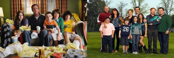Сериалы Американская семейка и Бывает и хуже